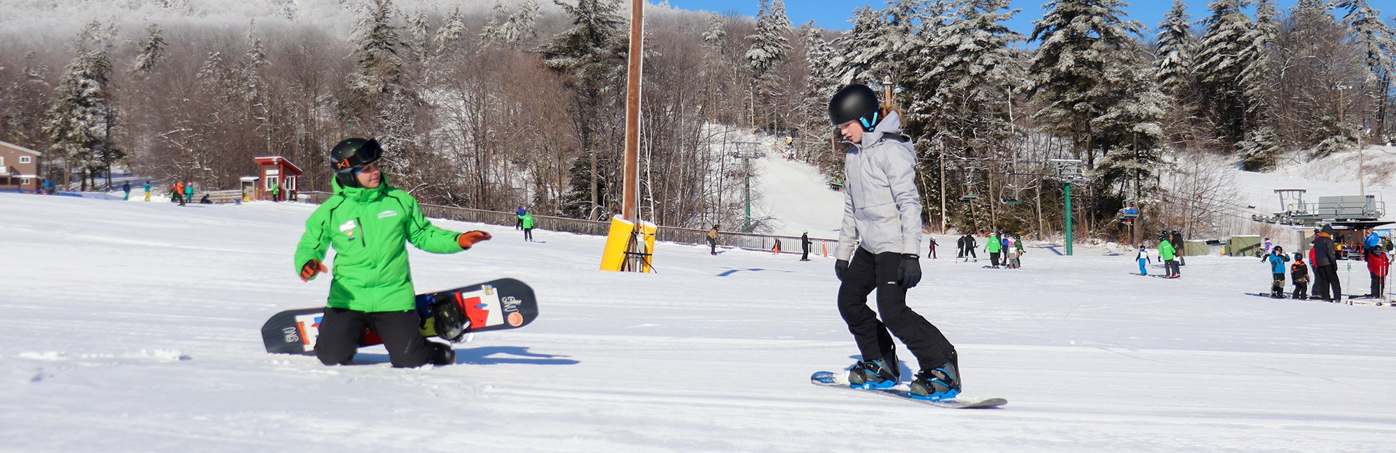 Beginner Snowboard Lesson