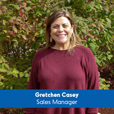 Gretchen Casey, Sales Manager
