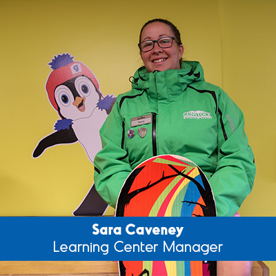 Sara Caveney Learning Center Manager